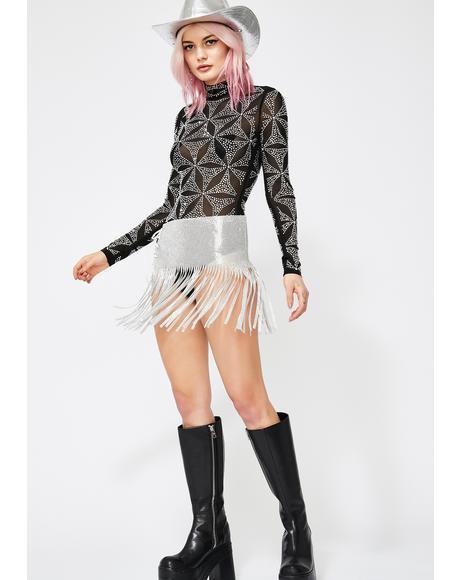 Sacred Slay Sheer Bodysuit