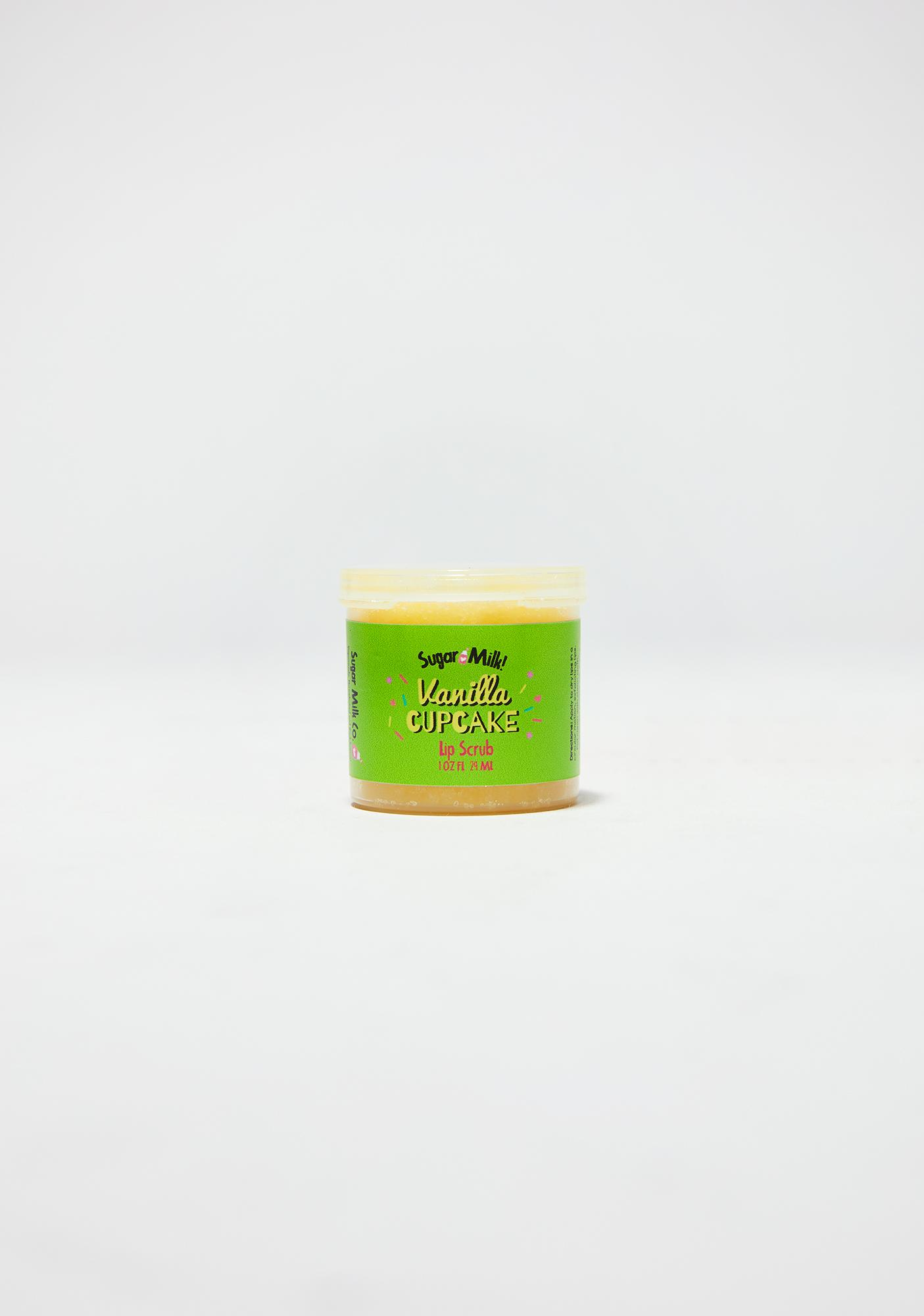 Sugar Milk Co Vanilla Cupcake Lip Scrub