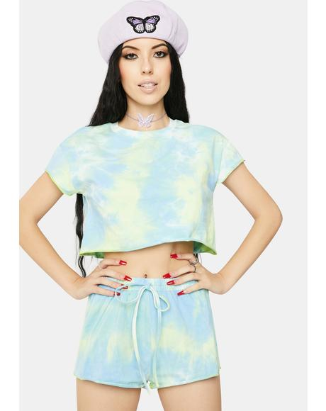 Pond Tie Dye Lounge Set