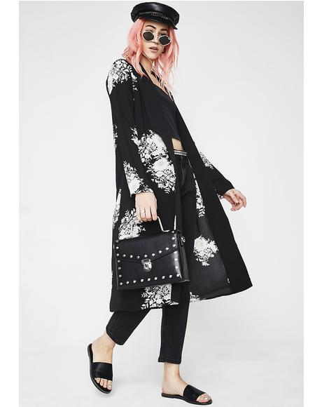 Beautiful Nightmare Flower Kimono