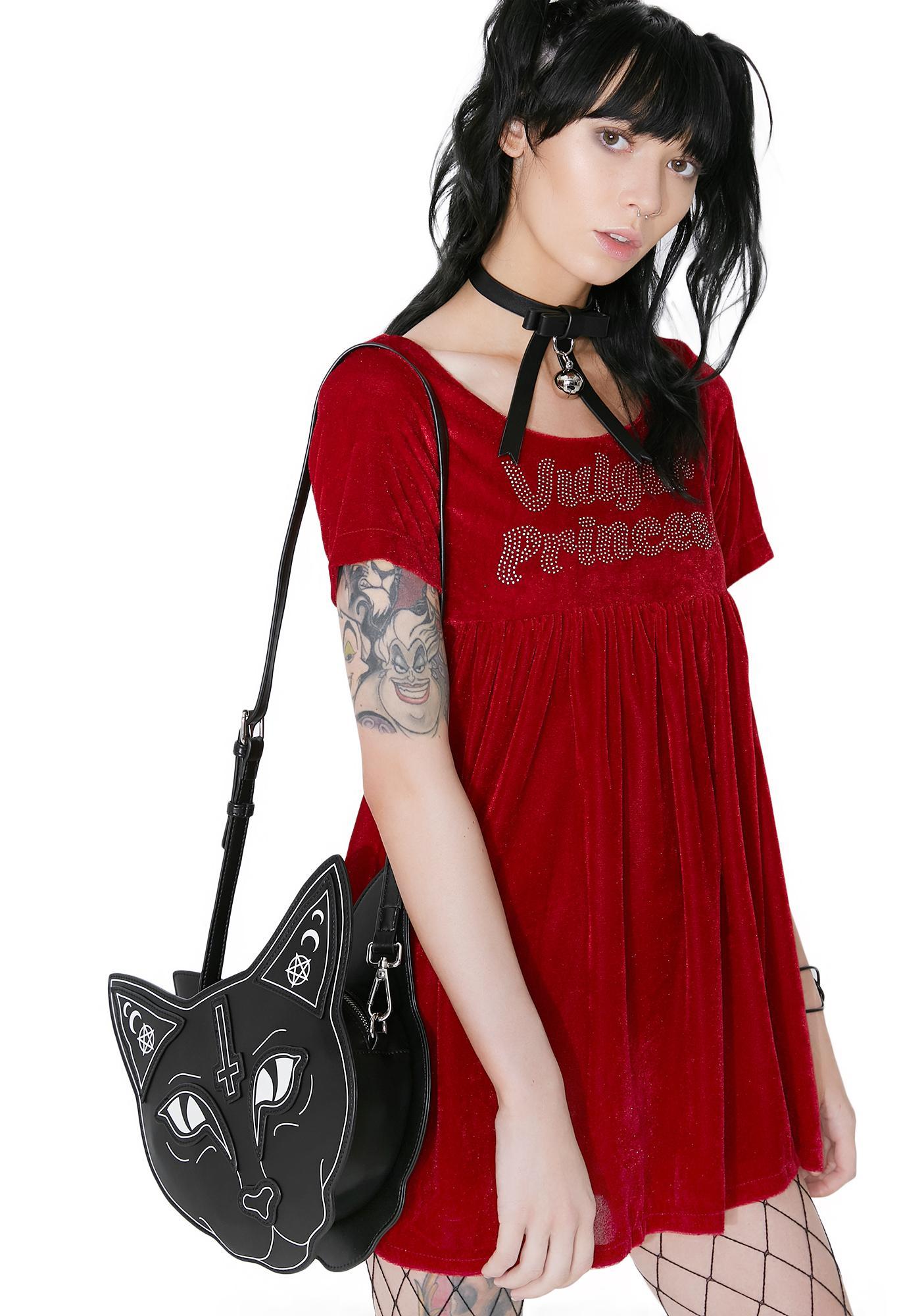 Dresses skirts clothes women disney store - Vulgar Princess Velvet Babydoll Dress