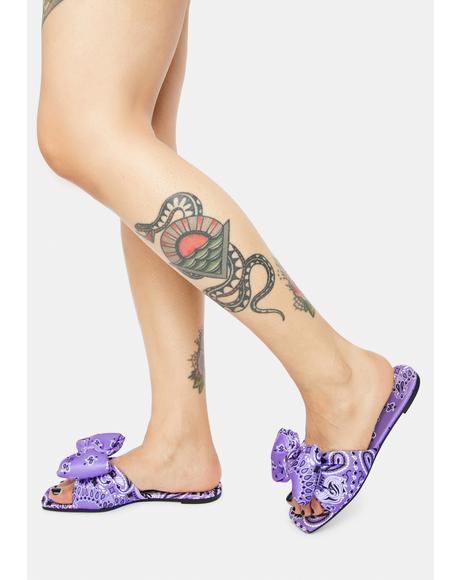Love Is Fleeting Slide Sandals