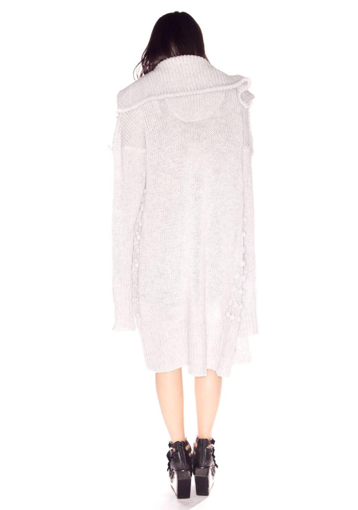 One Teaspoon Cold Desert Knit Coat