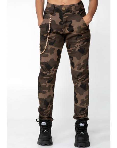 Camo In Flight Mode Cargo Pants