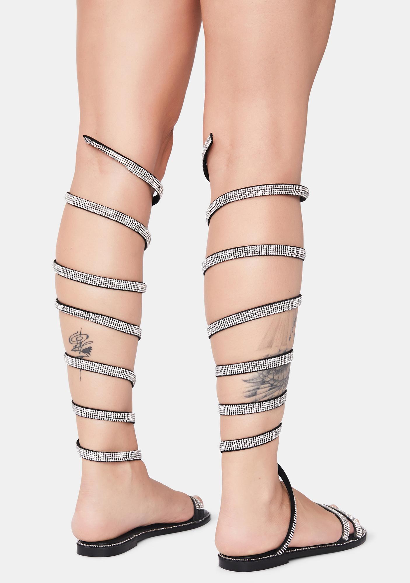 Tres Chic Wrap Sandals