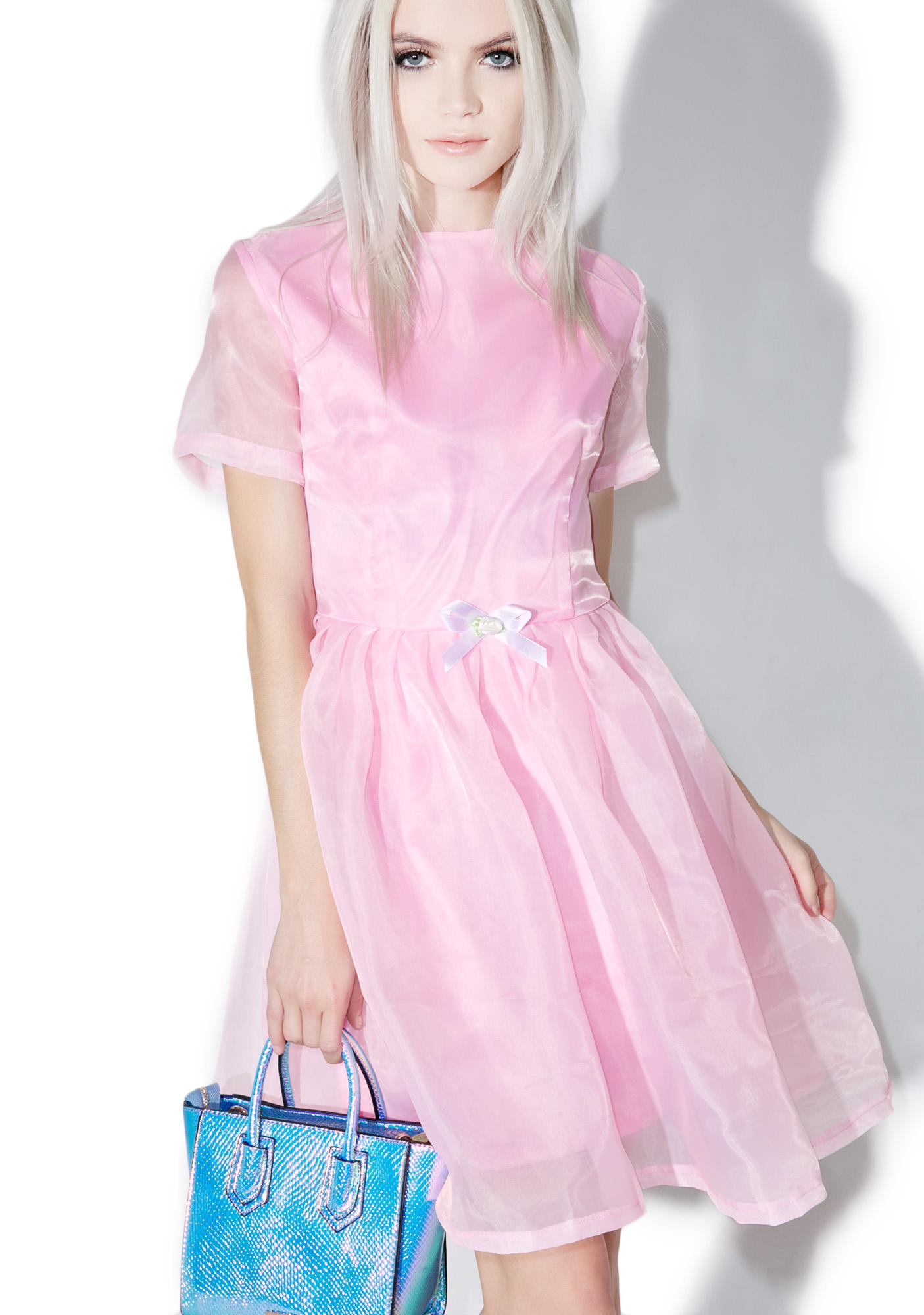 Melonhopper Pearl Prism Flare Dress