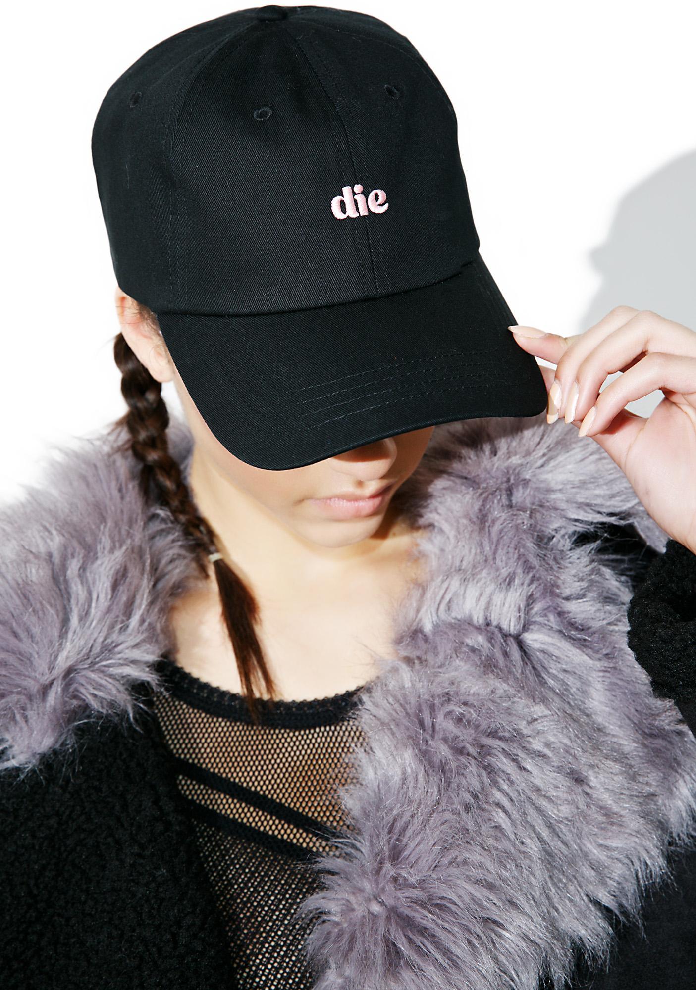 CRSHR Noir Die Dad Hat