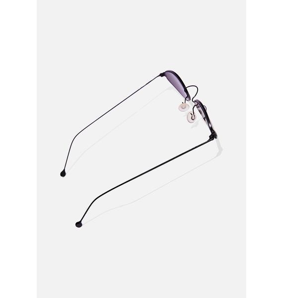Good Times Eyewear Hip Kitty Cat Eye Sunglasses