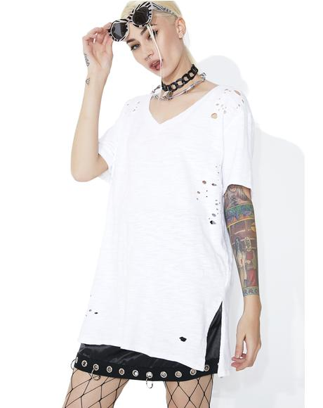 Celebrity Skin Distressed Tee