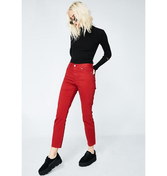 Levis Cherry Wedgie Icon Fit Jeans