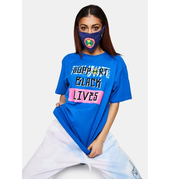 Cross Colours Support Black Lives Graphic T-Shirt