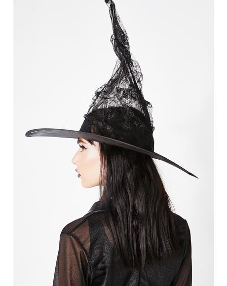 Dark Whispers Witch Hat