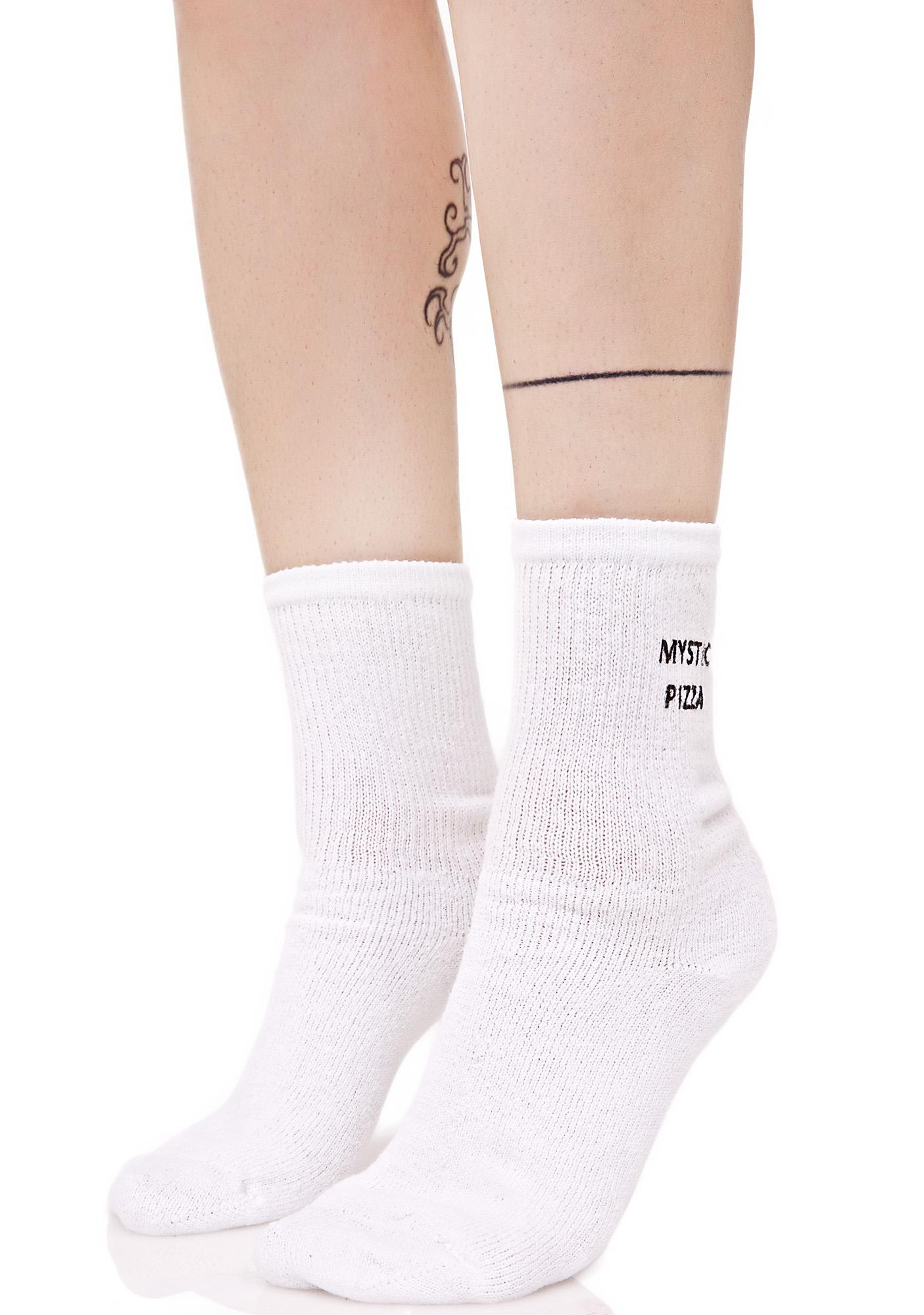Working Girls Co Mystic Pizza Socks