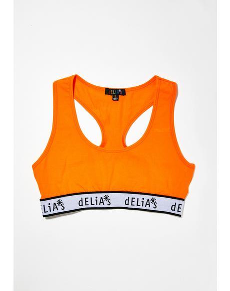 dELiA's Sports Bra