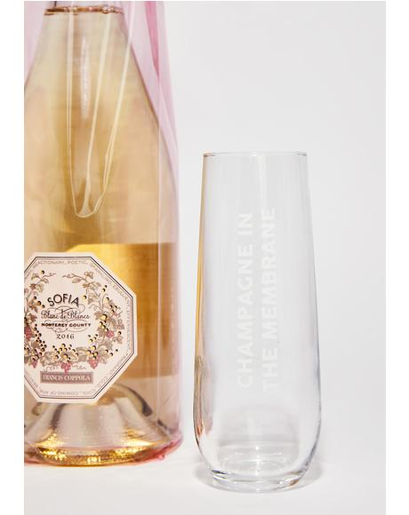 Champagne In The Membrane Flute