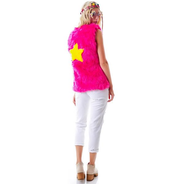 J Valentine Light Up Star Vest