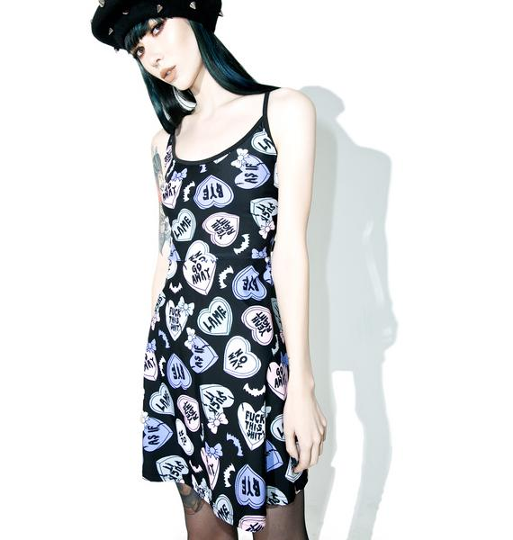 Creepy Luv Hearts Dress