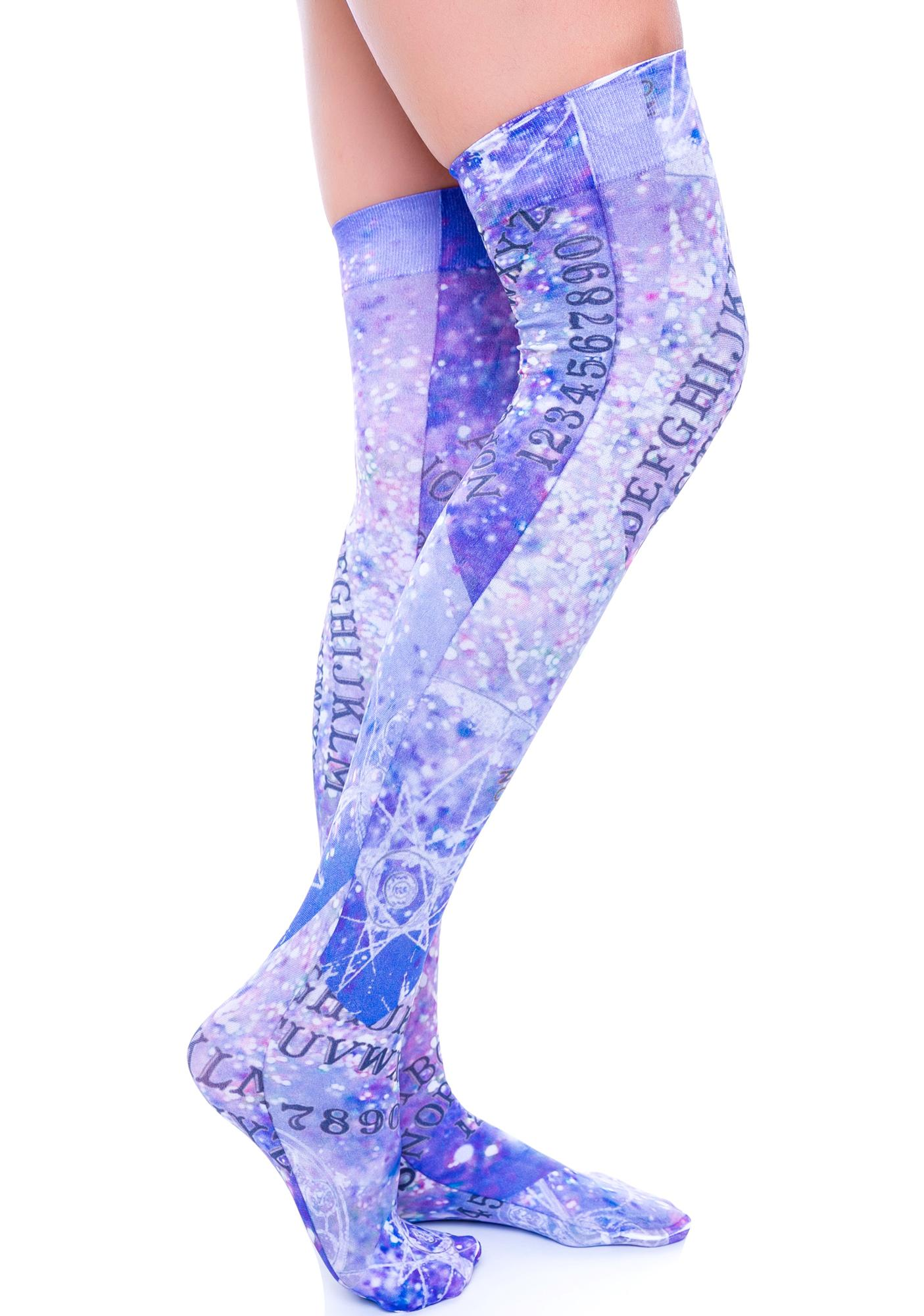 Private Arts Ouija Thigh High Sox