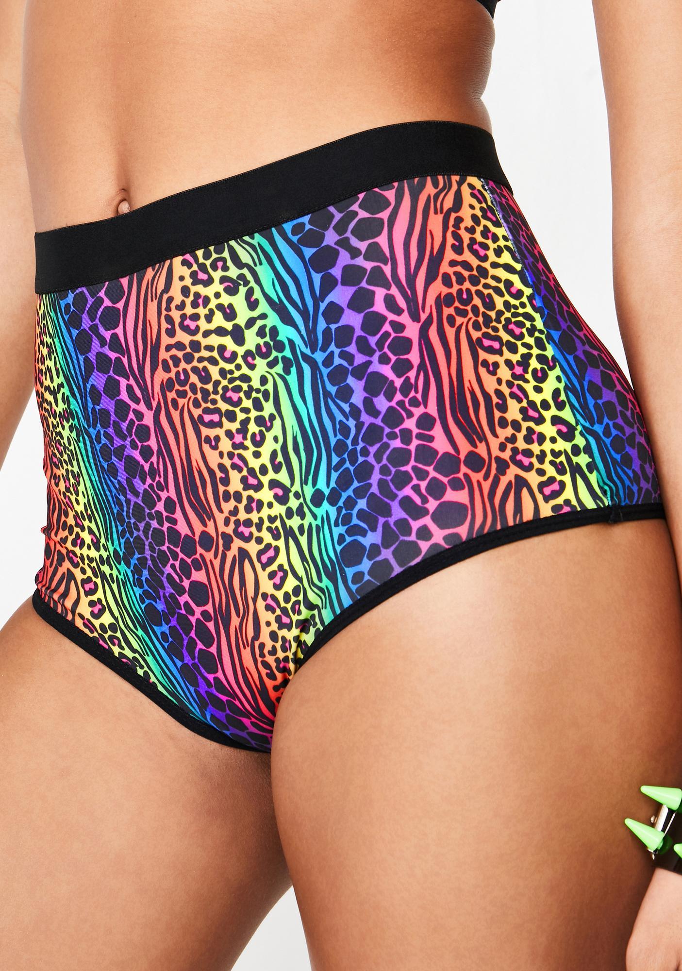 Club Exx Glamazon High Waist Shorts