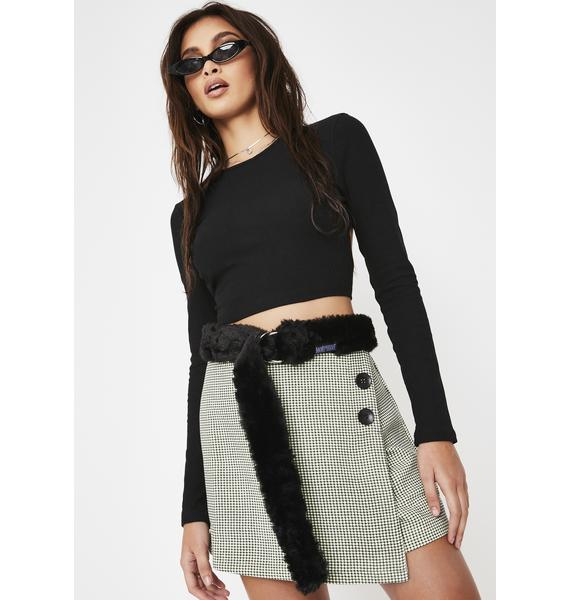 Morph8ne Purrr Faux Fur Belt