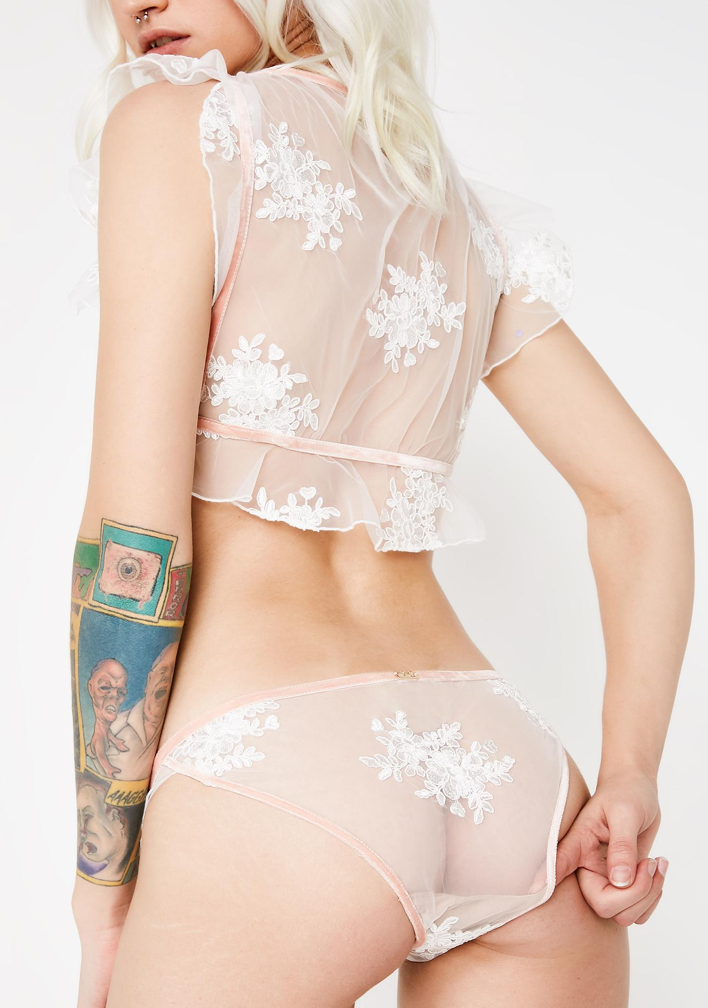 For Love & Lemons Noemi Ruffle Panties