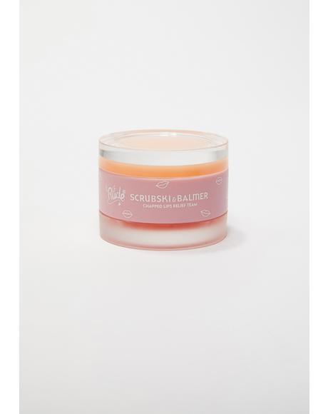 Orange Scrubski & Balmer Lip Exfoliator