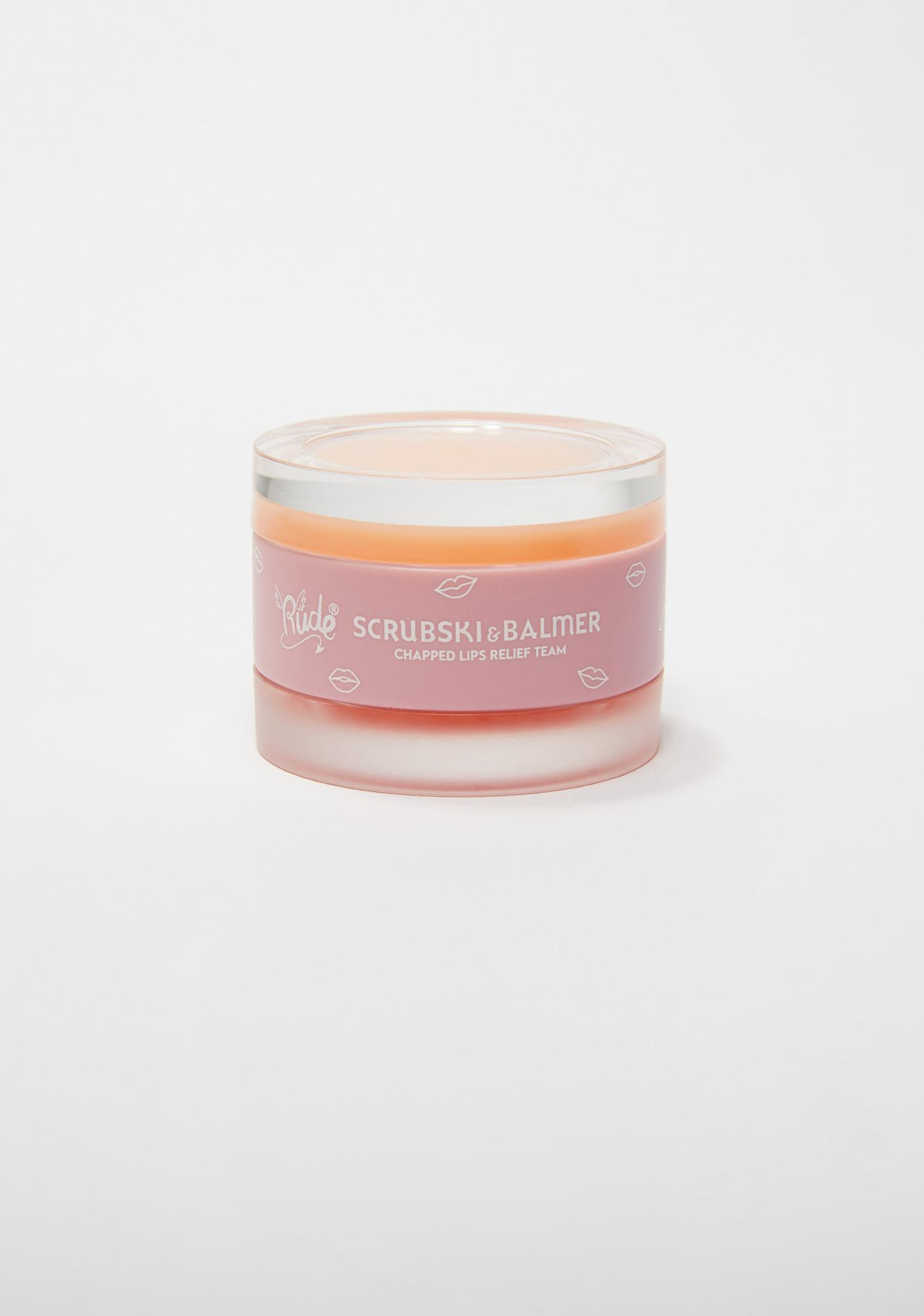 Rude Cosmetics Orange Scrubski & Balmer Lip Exfoliator