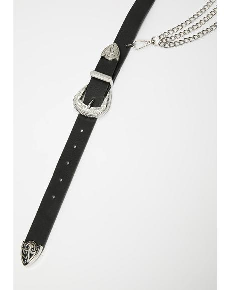 Desperado Chain Buckle Belt
