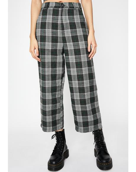 Edge Of Seventeen Plaid Pants