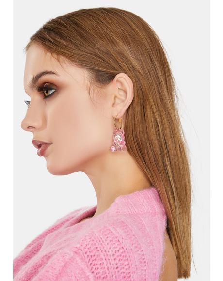 Gonna Eat U Gummy Bear Earrings