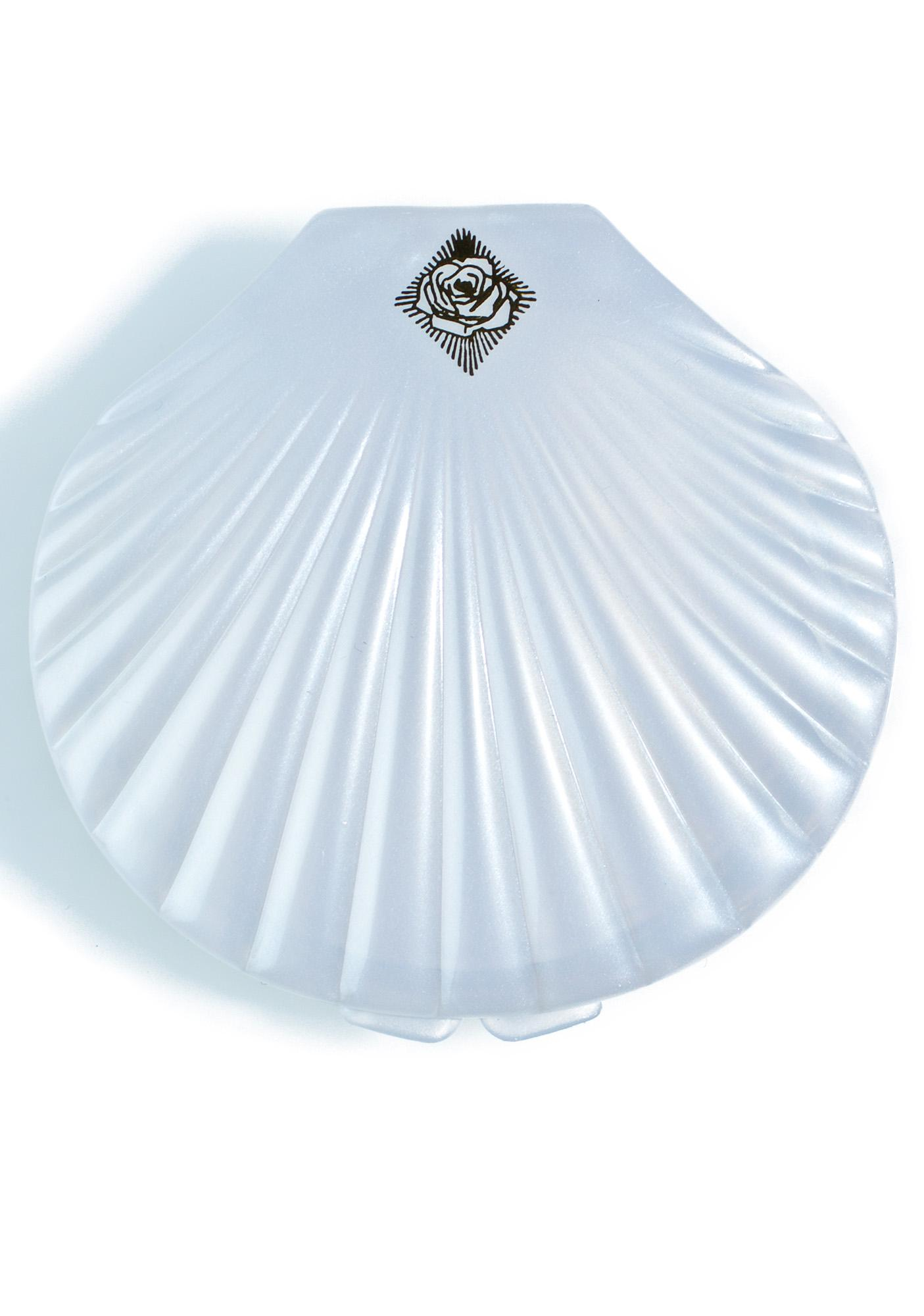Rosehound Apparel Shell Compact Mirror