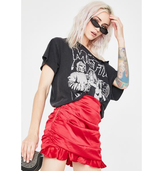 Runaway the Label Estilla Ruched Skirt