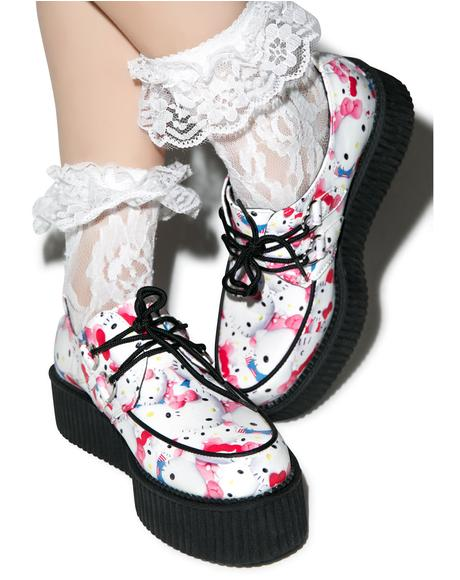 Hello Kitty Pretty Kitties Creepers