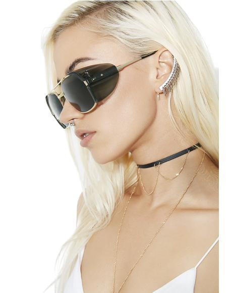 Dynamite Aviator Sunglasses