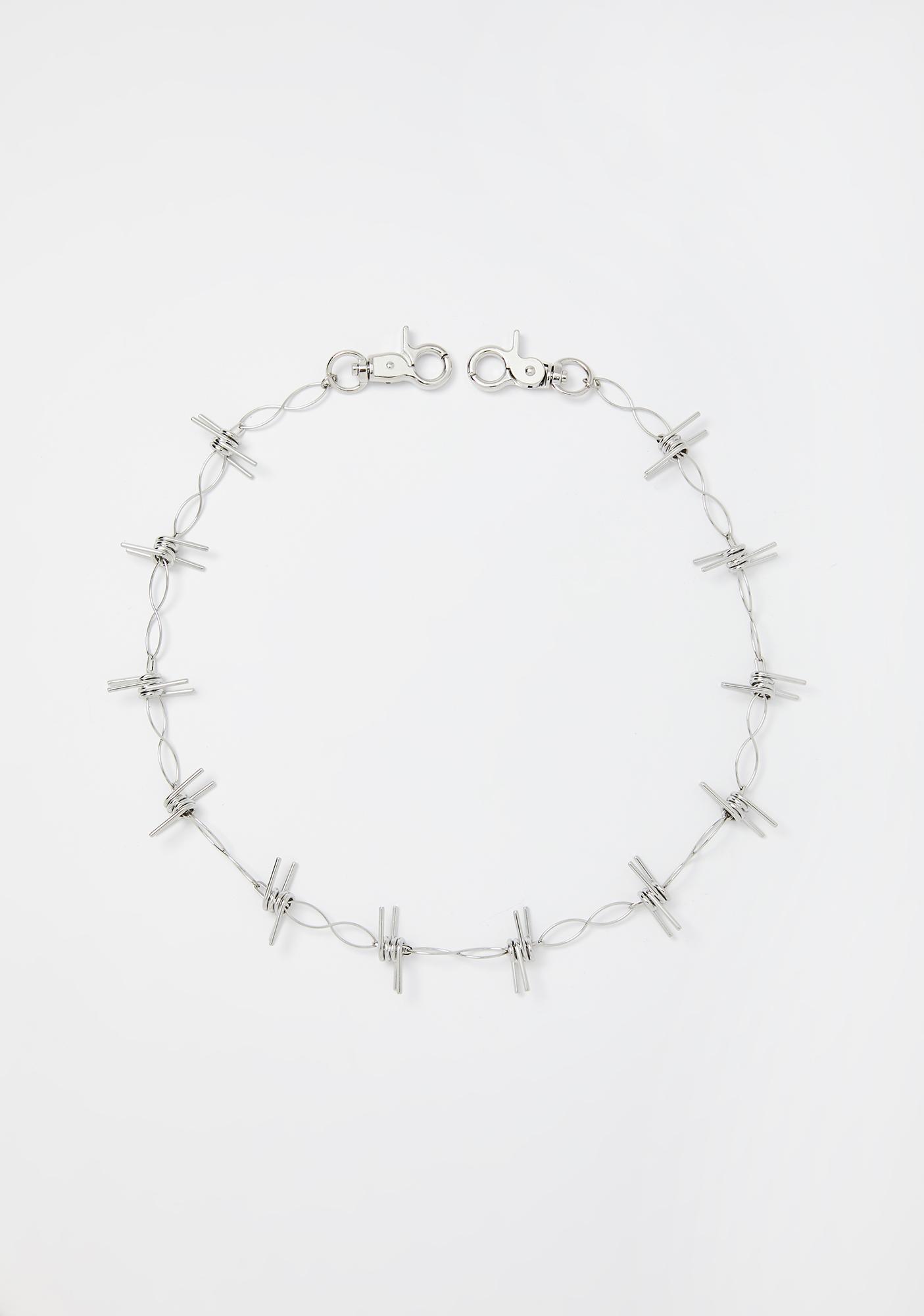 Disturbia Trespass Barbed Wire Chain