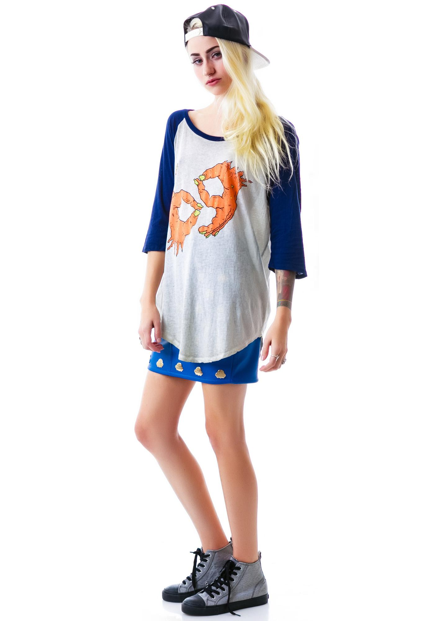 Iron Fist 69er Oversized Raglan Tee