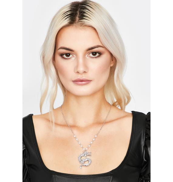 Fierce Mentality Dragon Necklace