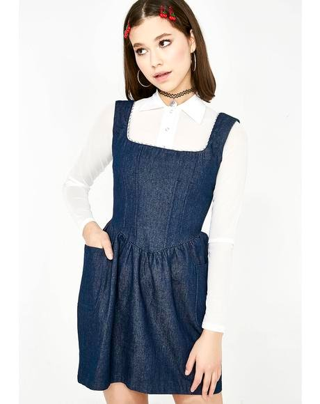 Denim Corset Dress