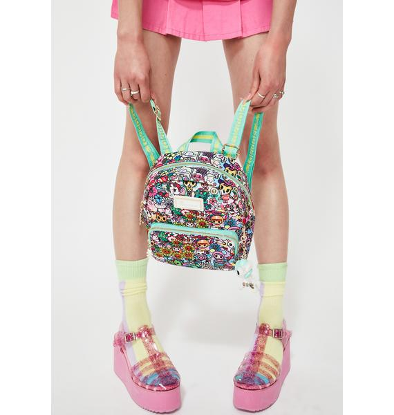 Tokidoki Flower Power Mini Backpack