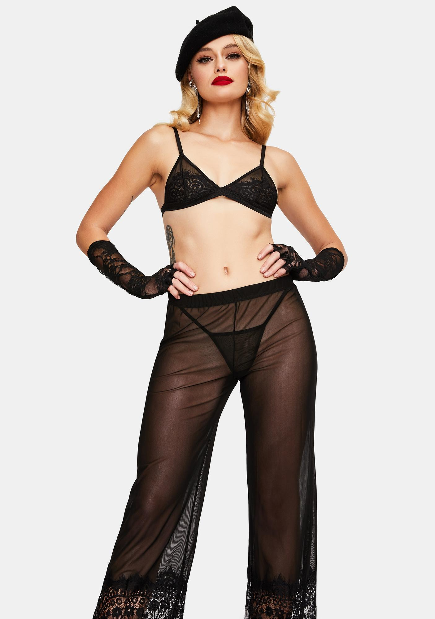 Do The Most Mesh Pant Set