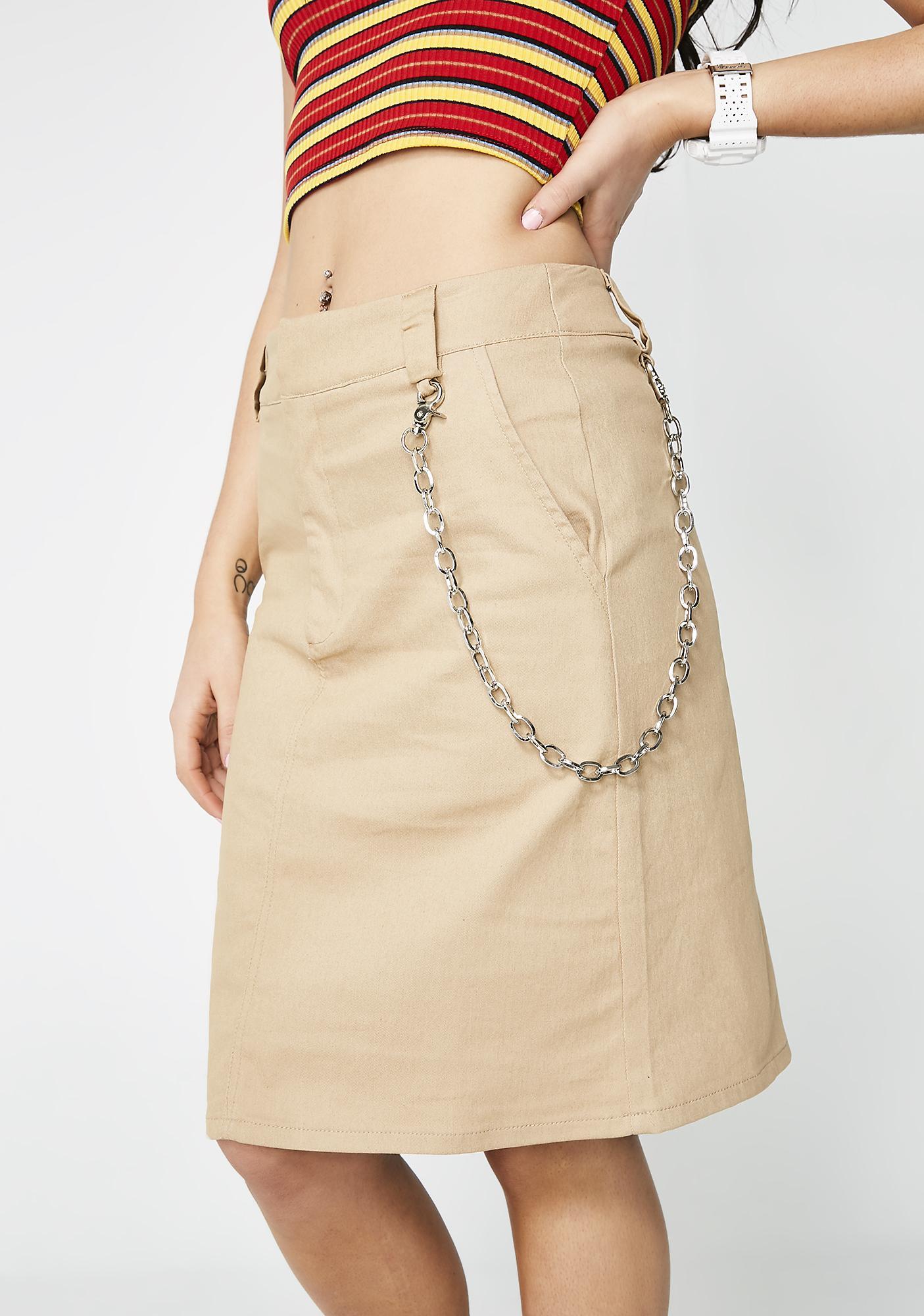 Sittin' Sidewayz A-Line Skirt