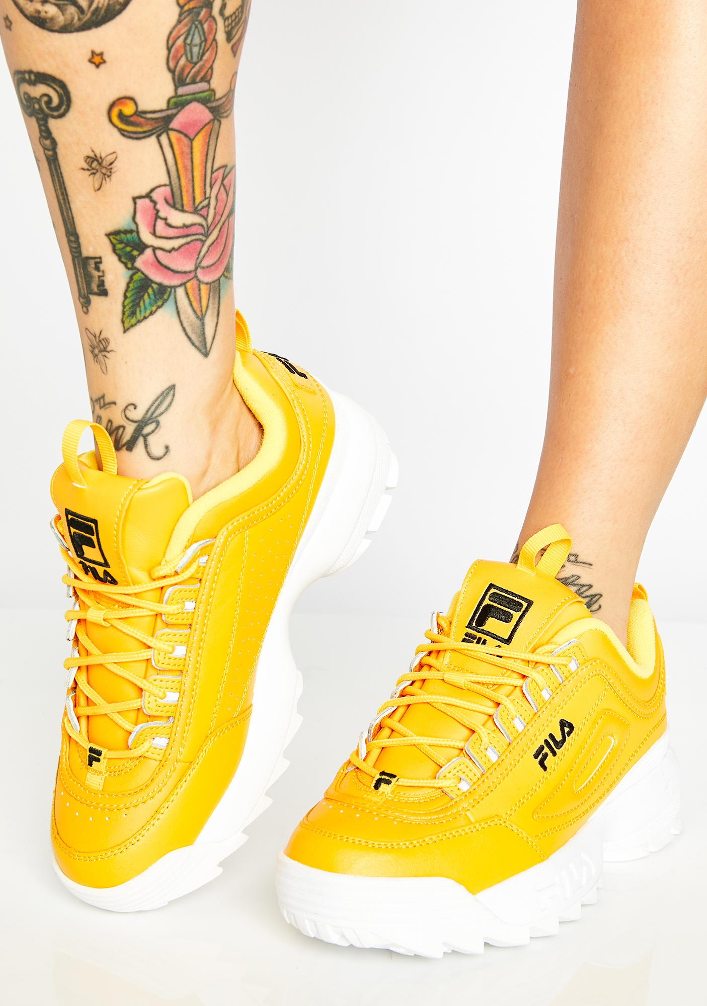 c9771a05441ef3 Fila Sunny Disruptor II Premium Sneakers | Dolls Kill