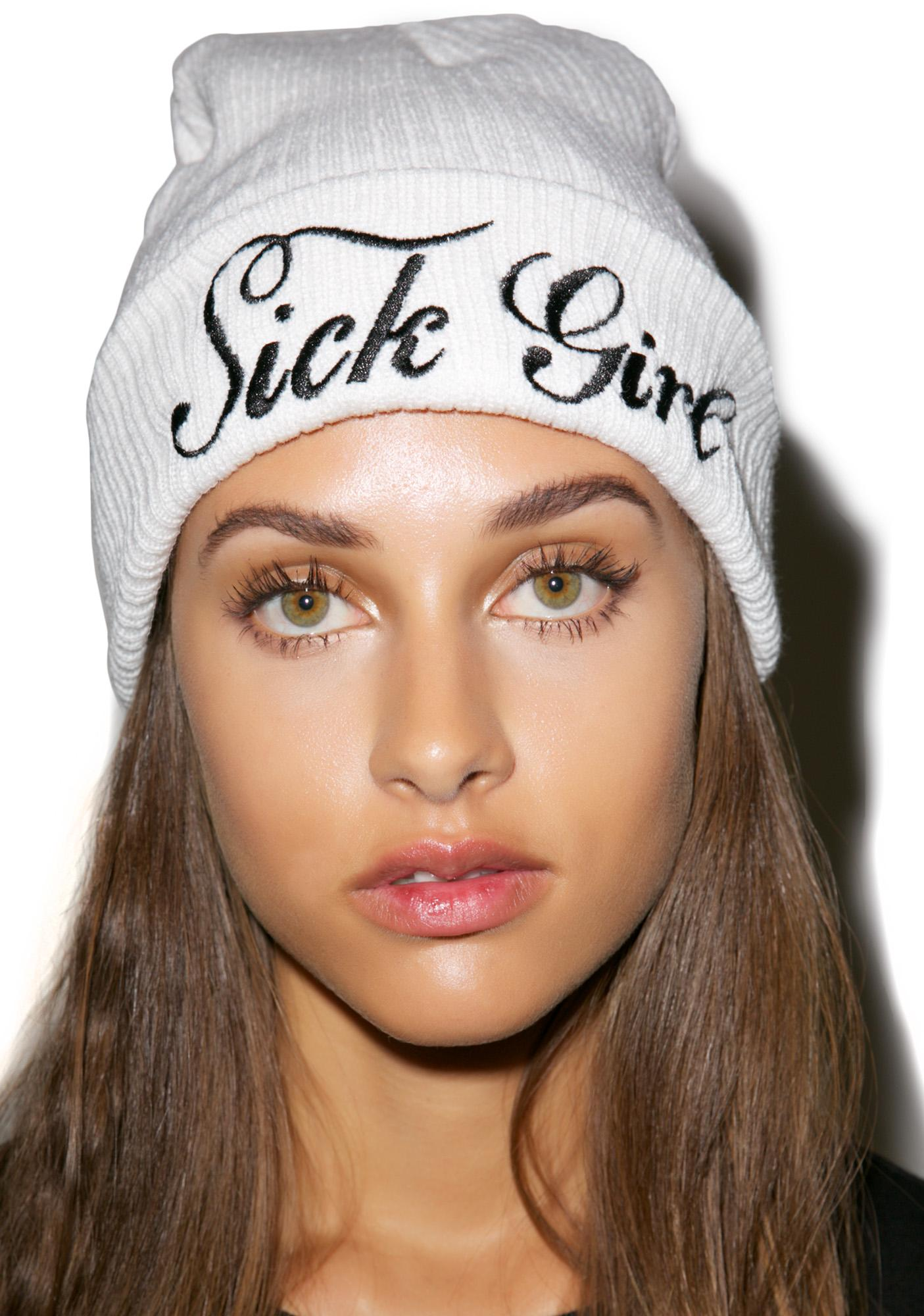 Sick Girl So Cold Sick Girl Beanie