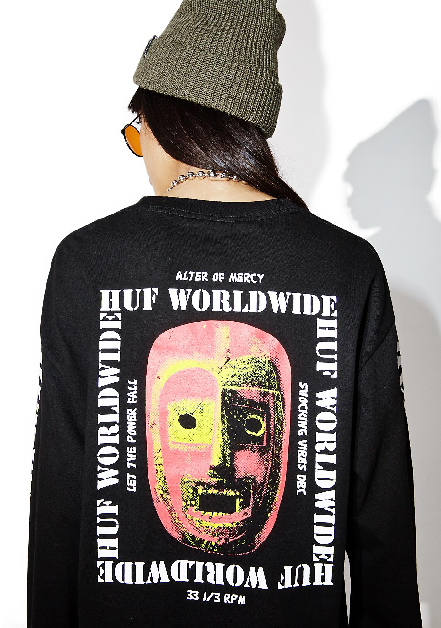 HUF Vibes Long Sleeve Tee