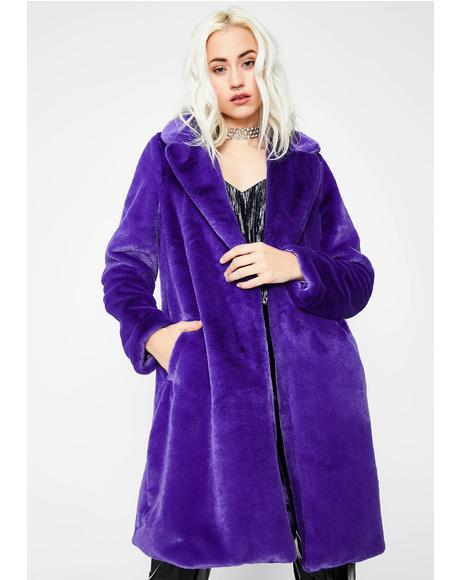 Outta Feelings Furry Jacket