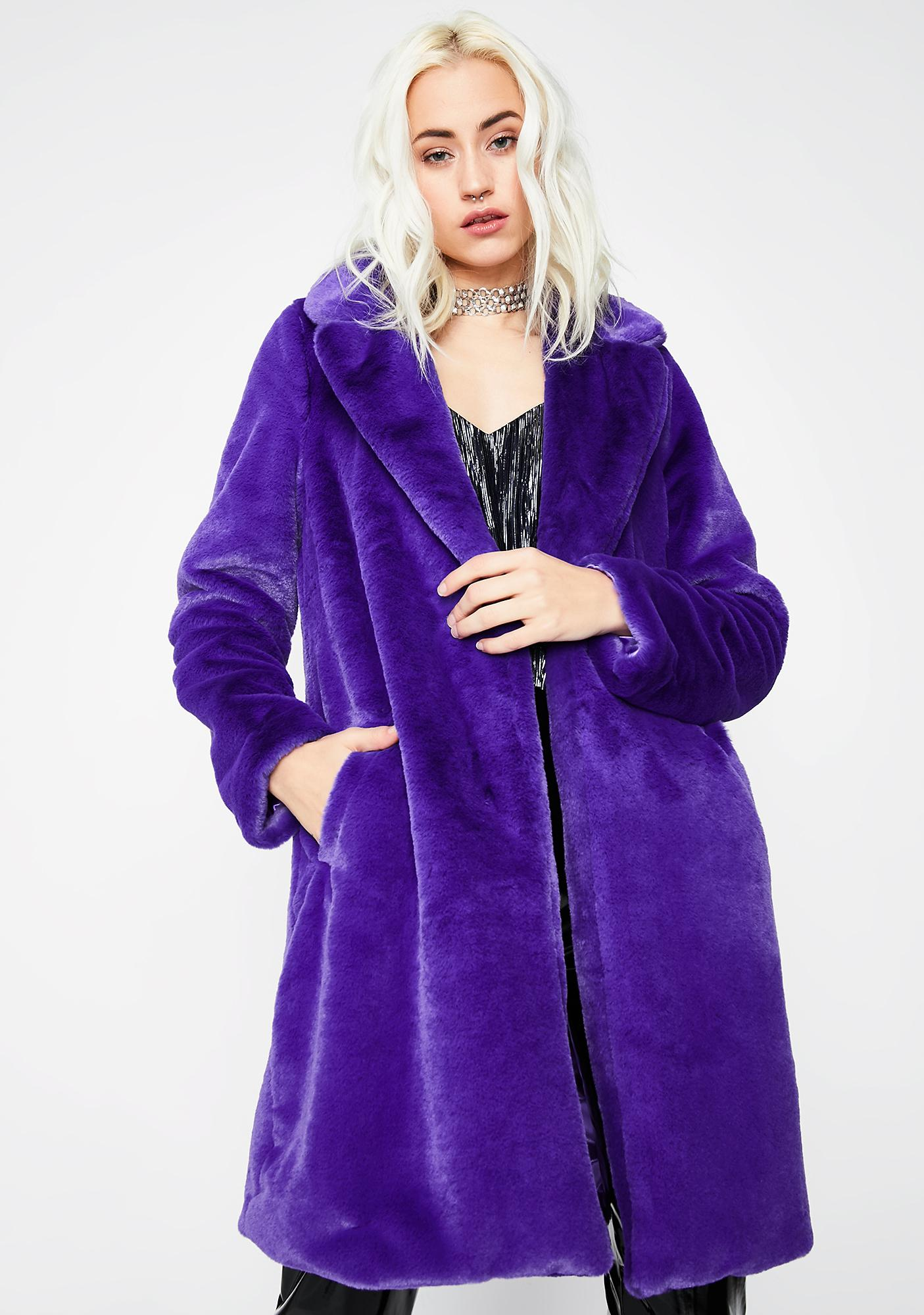 Outta Feelings Furry Jacket