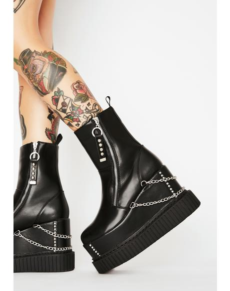 Delusions Platform Boots