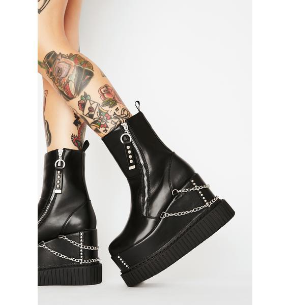 Lamoda Delusions Platform Boots
