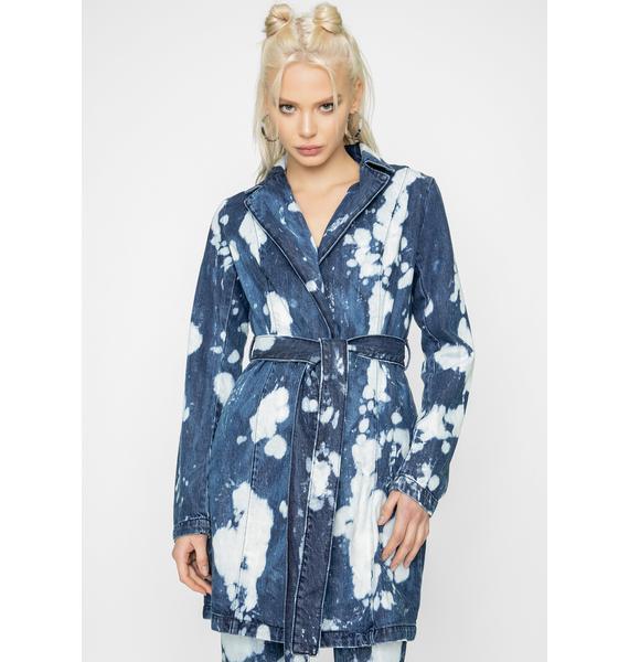 I AM GIA Blue Despina Denim Jacket
