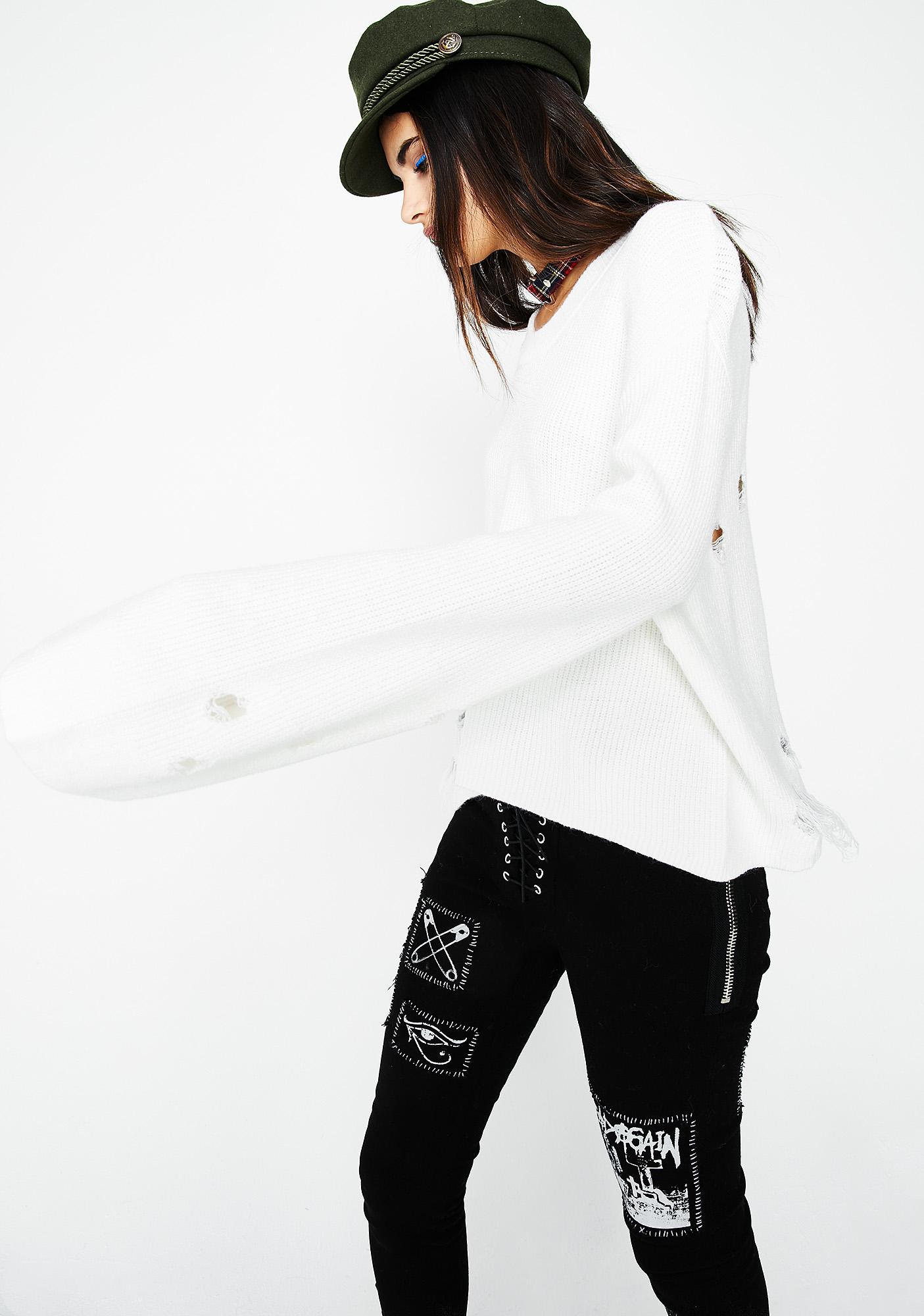 Save Urself Sweater